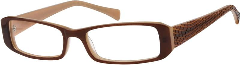 UnisexFull RimAcetate/PlasticEyeglasses #615112