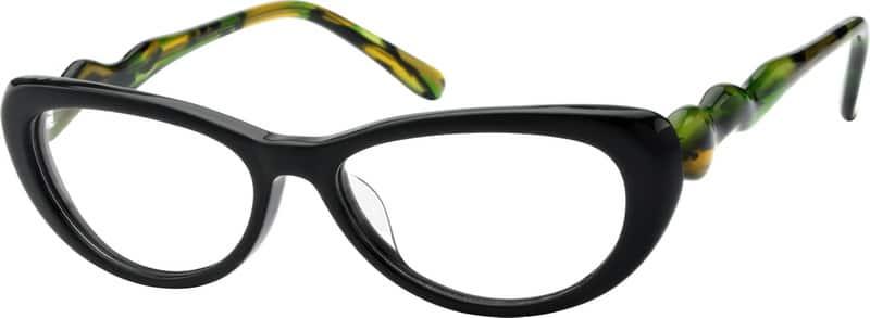 WomenFull RimAcetate/PlasticEyeglasses #615717