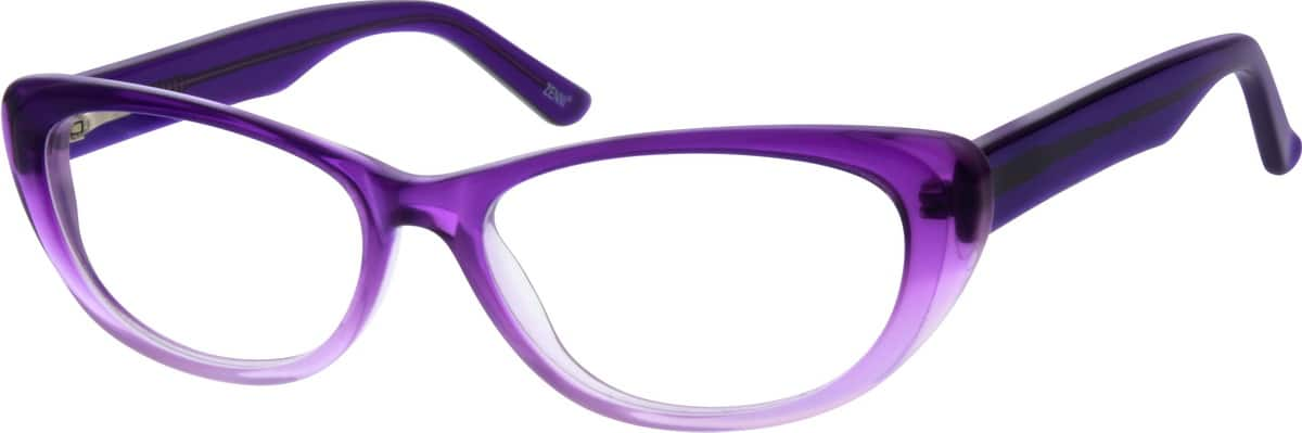 Acetate Full-Rim Frame with Spring Hinges