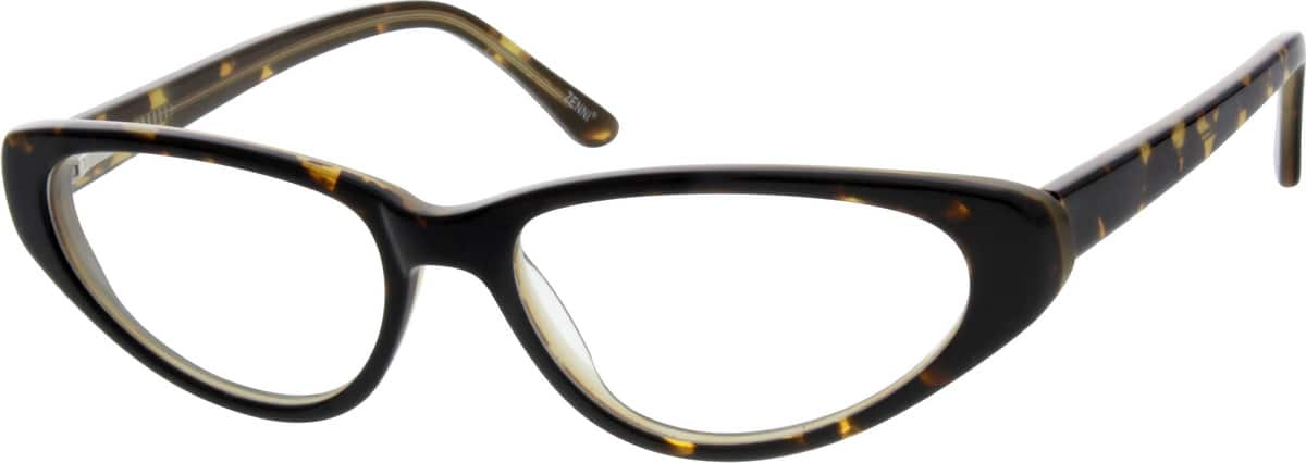Women Full Rim Acetate/Plastic Eyeglasses #618916