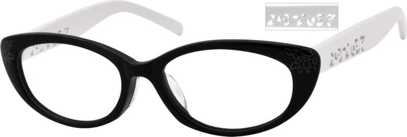 Women Full Rim Acetate/Plastic Eyeglasses #619621