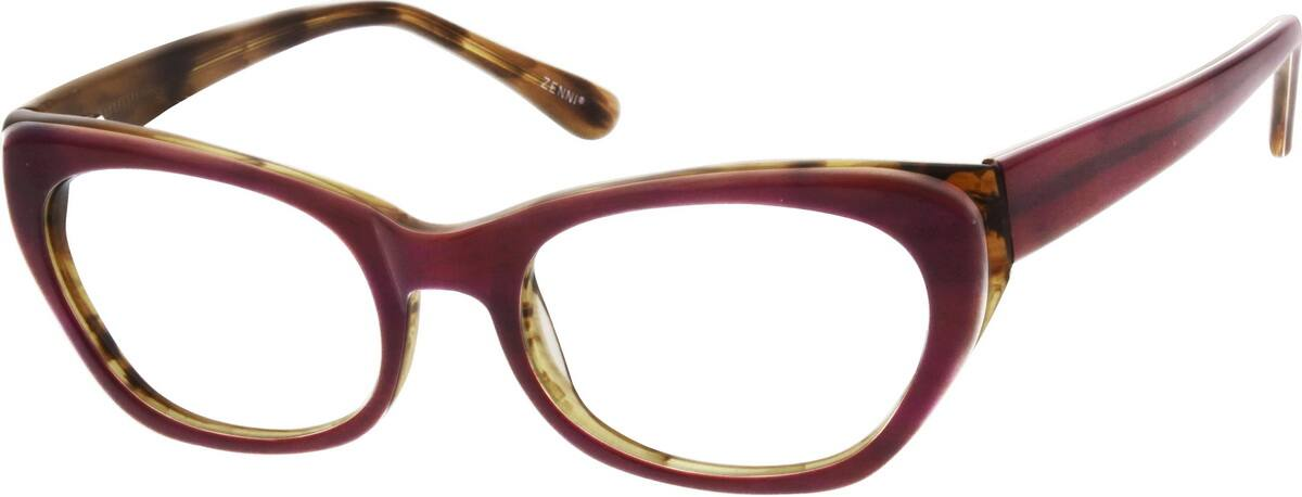 WomenFull RimAcetate/PlasticEyeglasses #620621
