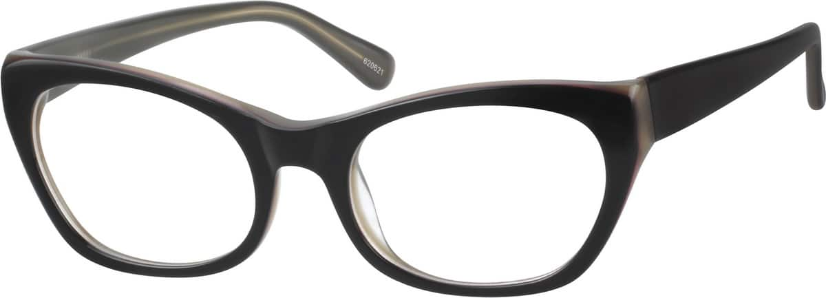 Fashion Acetate Full-Rim Frame with Spring Hinges