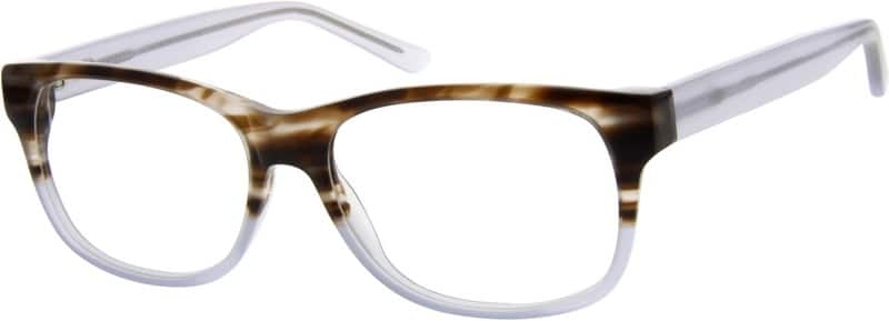 Men Full Rim Acetate/Plastic Eyeglasses #621045