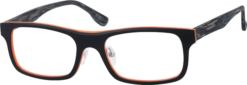 Men Full Rim Acetate/Plastic Eyeglasses #621916