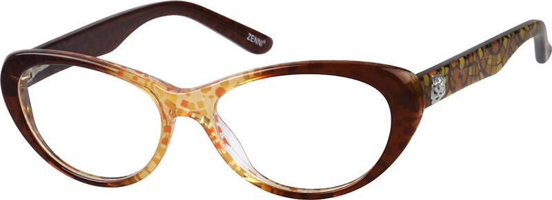 WomenFull RimAcetate/PlasticEyeglasses #622722