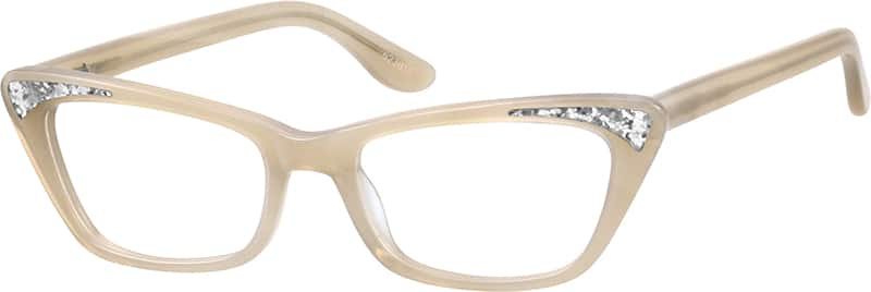 Cat Eye Glasses with sparkle from Zenni