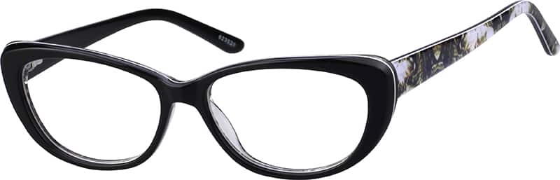 womens striking cat eye eyeglasses