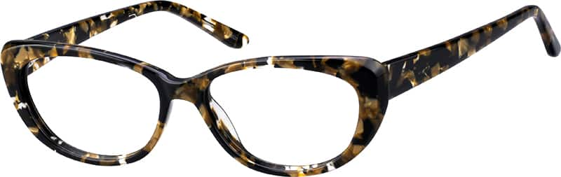 Women's Striking Cat-Eye Eyeglasses