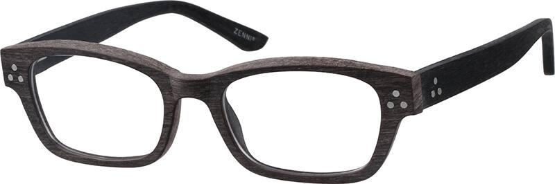 UnisexFull RimAcetate/PlasticEyeglasses #623615