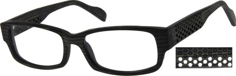 MenFull RimAcetate/PlasticEyeglasses #623812