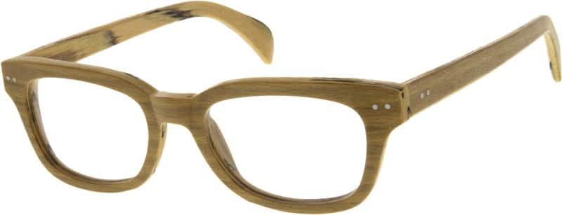 UnisexFull RimAcetate/PlasticEyeglasses #624032