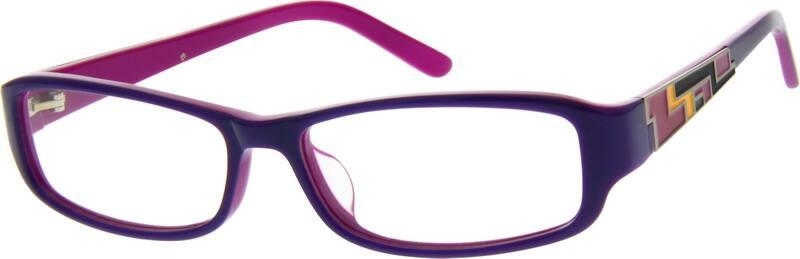 WomenFull RimAcetate/PlasticEyeglasses #624121