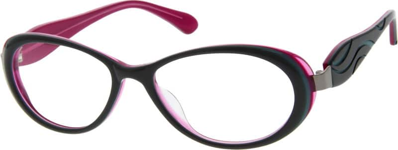 Women Full Rim Acetate/Plastic Eyeglasses #624236