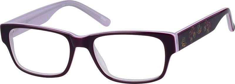 WomenFull RimAcetate/PlasticEyeglasses #624617