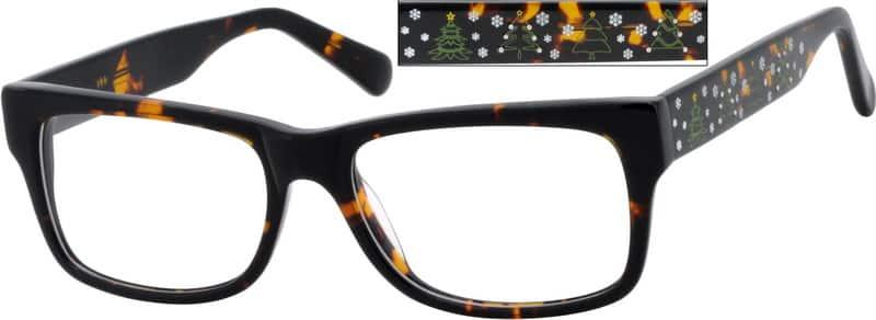MenFull RimAcetate/PlasticEyeglasses #624925