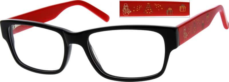 UnisexFull RimAcetate/PlasticEyeglasses #625121