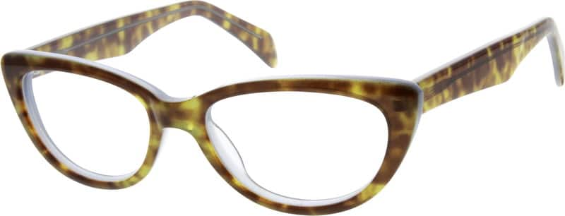 Women Full Rim Acetate/Plastic Eyeglasses #625218