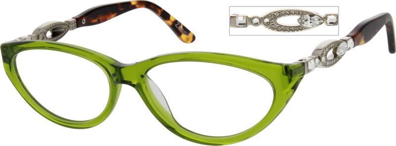 WomenFull RimAcetate/PlasticEyeglasses #625524