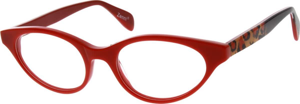 WomenFull RimAcetate/PlasticEyeglasses #625718