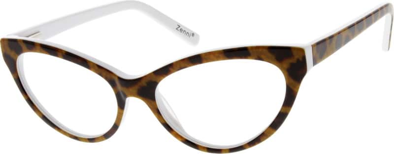 Women Full Rim Acetate/Plastic Eyeglasses #626325