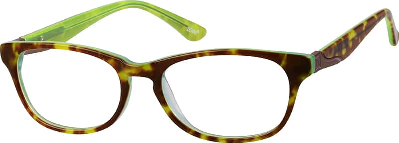 626424-acetate-full-rim-frame-with-design-on-temples