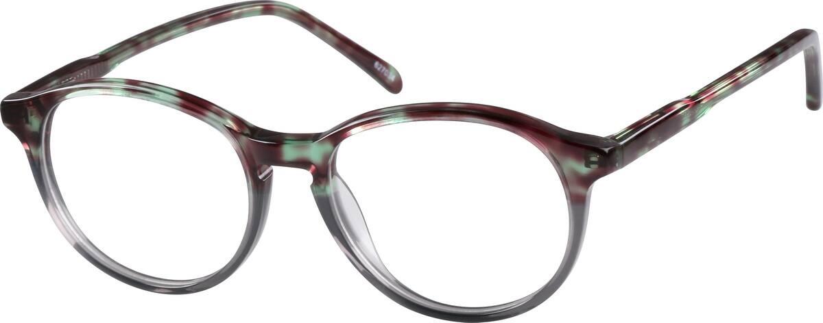 UnisexFull RimAcetate/PlasticEyeglasses #627034