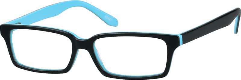 MenFull RimAcetate/PlasticEyeglasses #627415