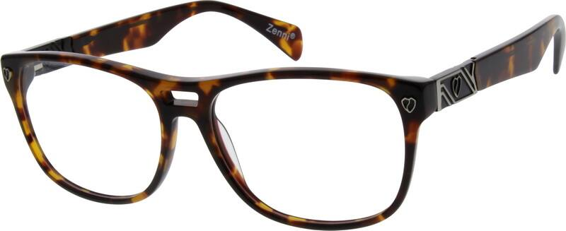 Men Full Rim Acetate/Plastic Eyeglasses #627521