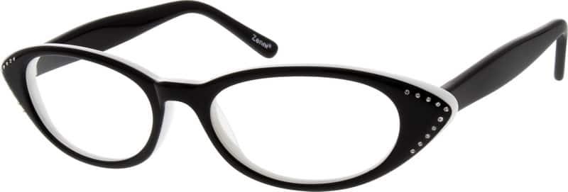 WomenFull RimAcetate/PlasticEyeglasses #628424