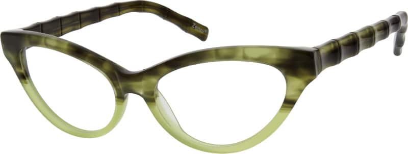 Women Full Rim Acetate/Plastic Eyeglasses #628534