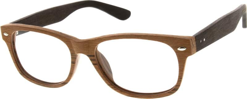 Eyeglass Frames Zenni : Brown Acetate Full-Rim Frame #6288 Zenni Optical Eyeglasses