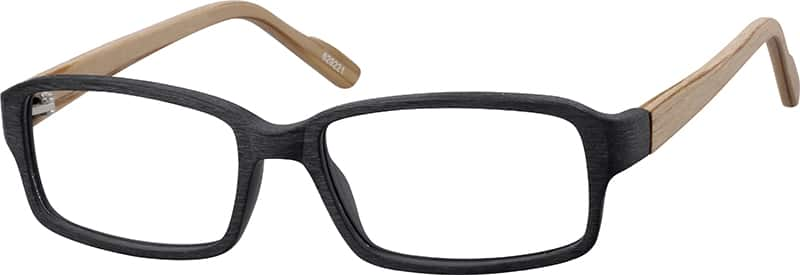 men full rim acetateplastic eyeglasses 629235