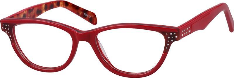 WomenFull RimAcetate/PlasticEyeglasses #629630