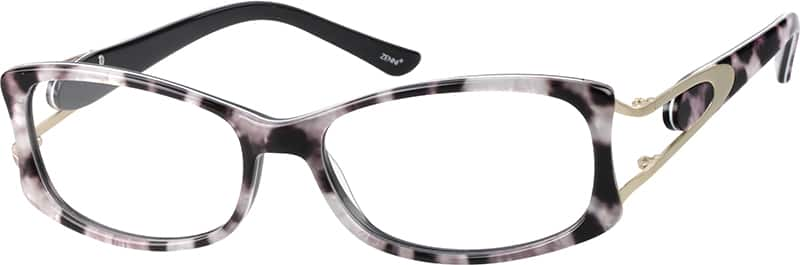 Women Full Rim Acetate/Plastic Eyeglasses #629745