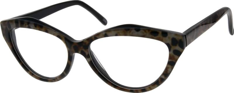 Women Full Rim Acetate/Plastic Eyeglasses #629927