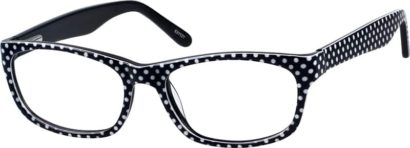 Women Full Rim Acetate/Plastic Eyeglasses #631118