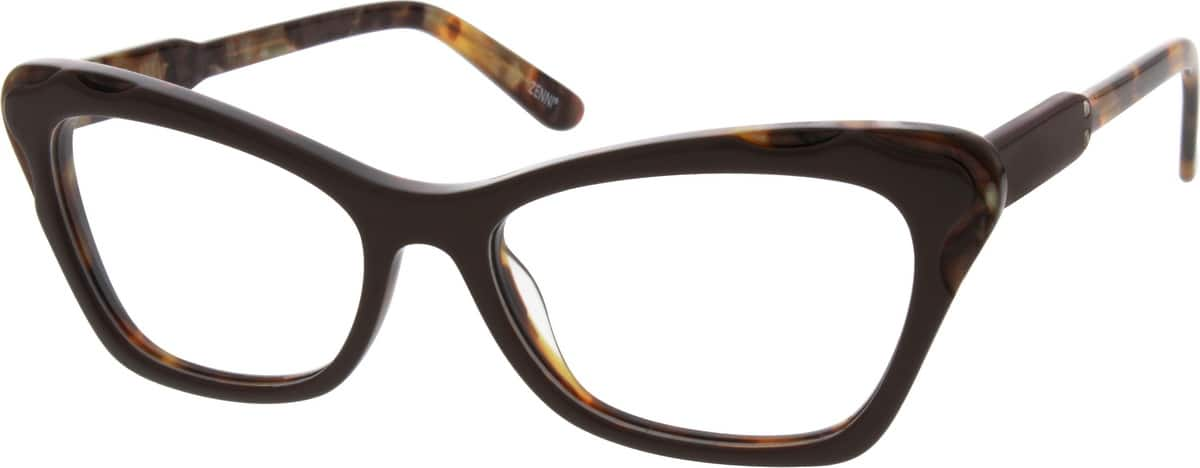 Women Full Rim Acetate/Plastic Eyeglasses #631817
