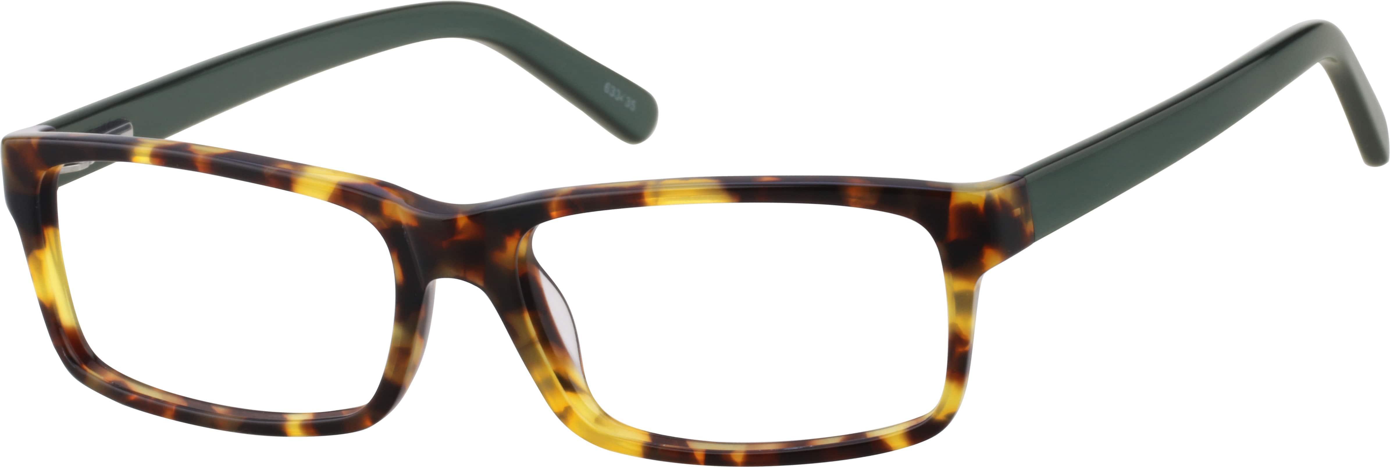UnisexFull RimAcetate/PlasticEyeglasses #633435