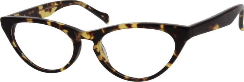 Women Full Rim Acetate/Plastic Eyeglasses #633521