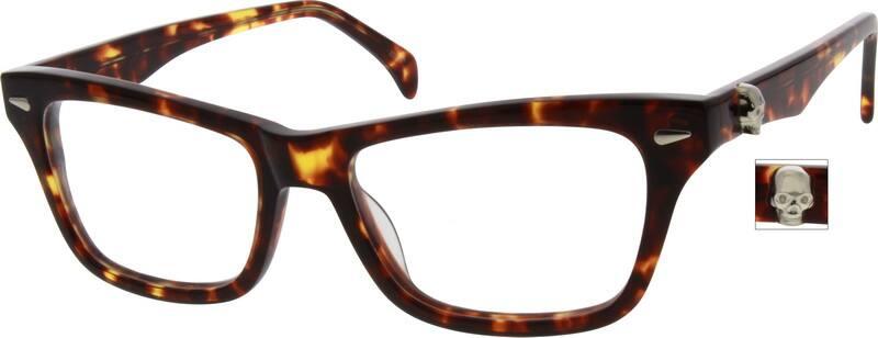 WomenFull RimAcetate/PlasticEyeglasses #634121