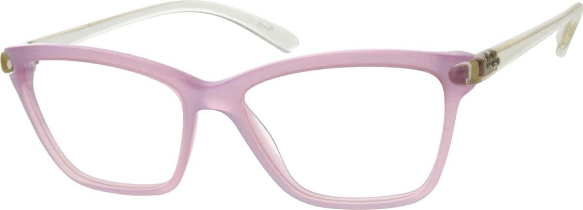 Women Full Rim Acetate/Plastic Eyeglasses #634719