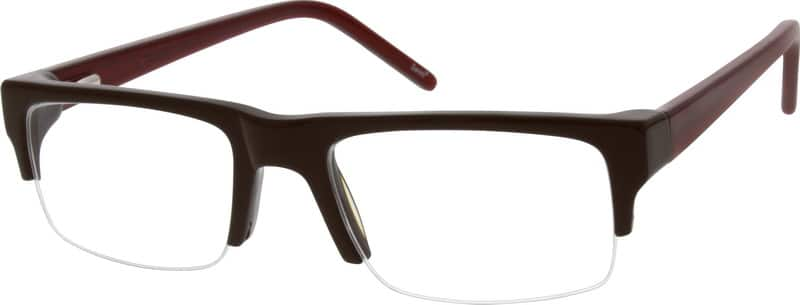 BoyHalf RimAcetate/PlasticEyeglasses #635215