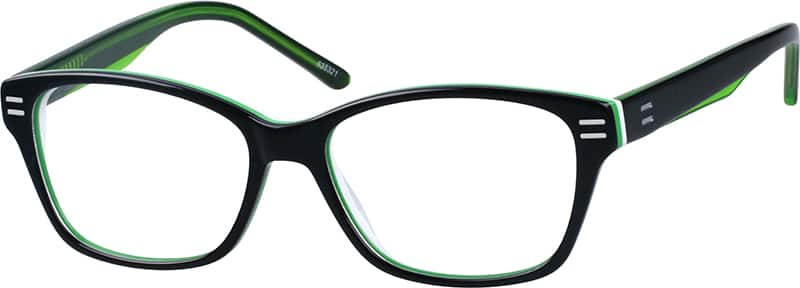 Women Full Rim Acetate/Plastic Eyeglasses #635321