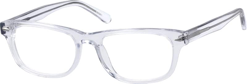 Translucent Rectangle Eyeglasses #6360 Zenni Optical ...