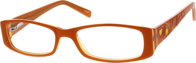 Girl Full Rim Acetate/Plastic Eyeglasses #636122