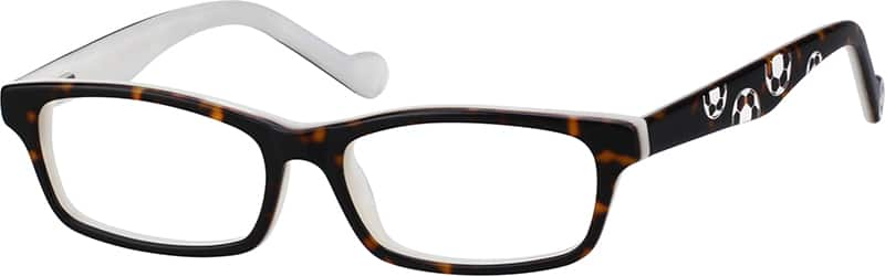 Kids Full Rim Acetate/Plastic Eyeglasses #636221