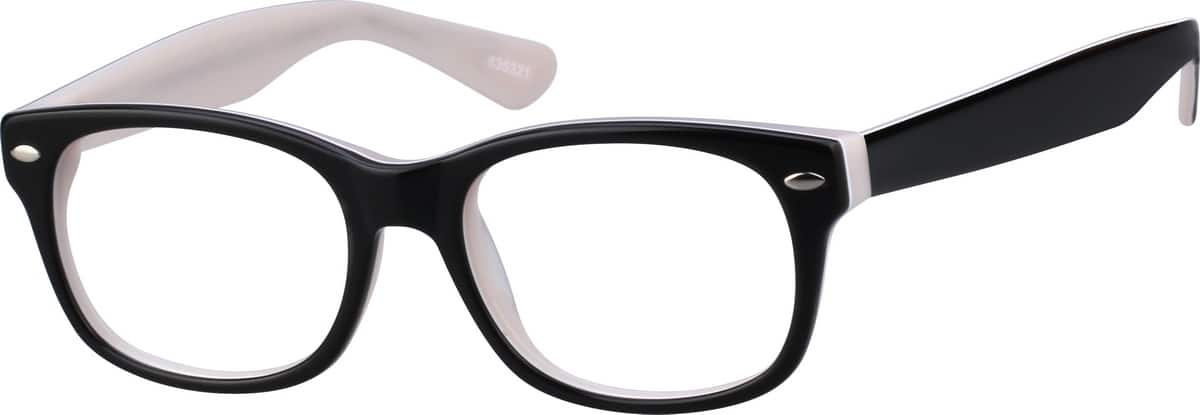 GirlFull RimAcetate/PlasticEyeglasses #636318