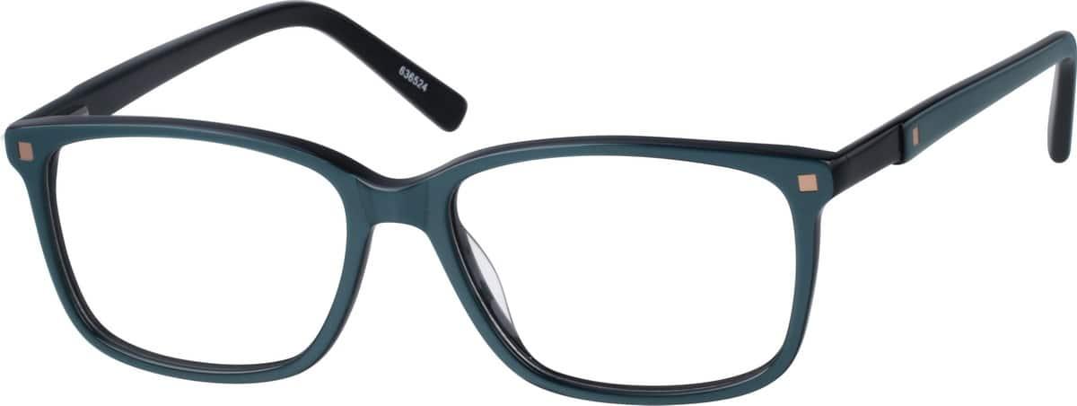 UnisexFull RimAcetate/PlasticEyeglasses #636525