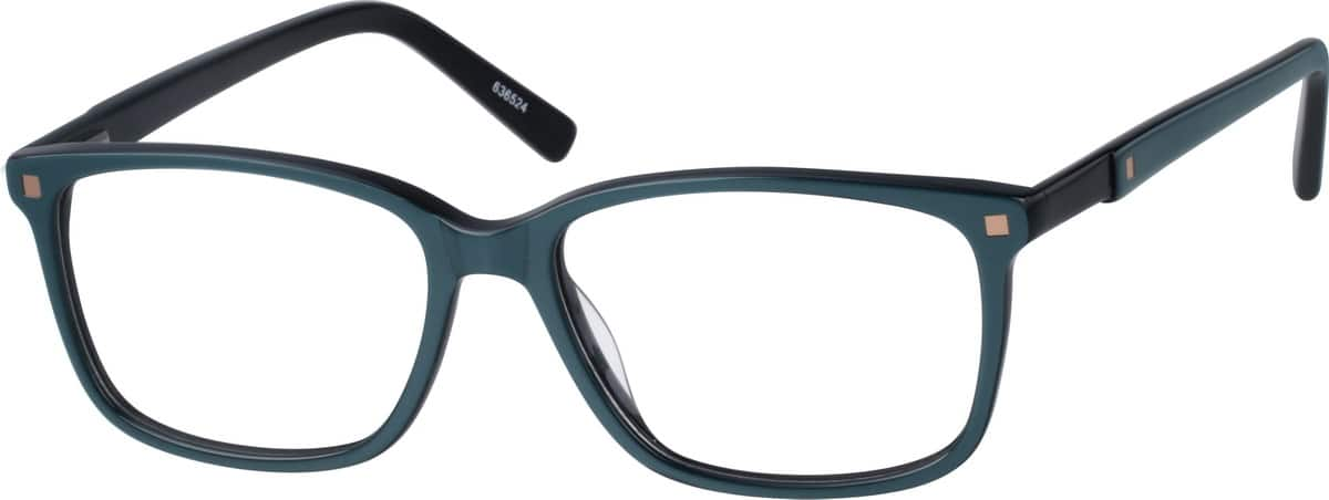 Detailed Square Eyeglasses